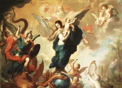 María sobre el poder de las tinieblas